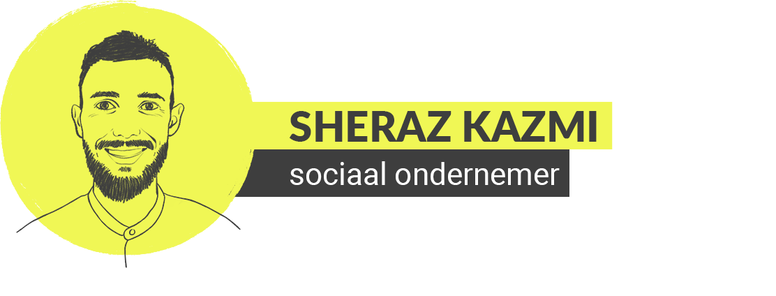 illustratie sheraz kazmi eigenaar groweveryday