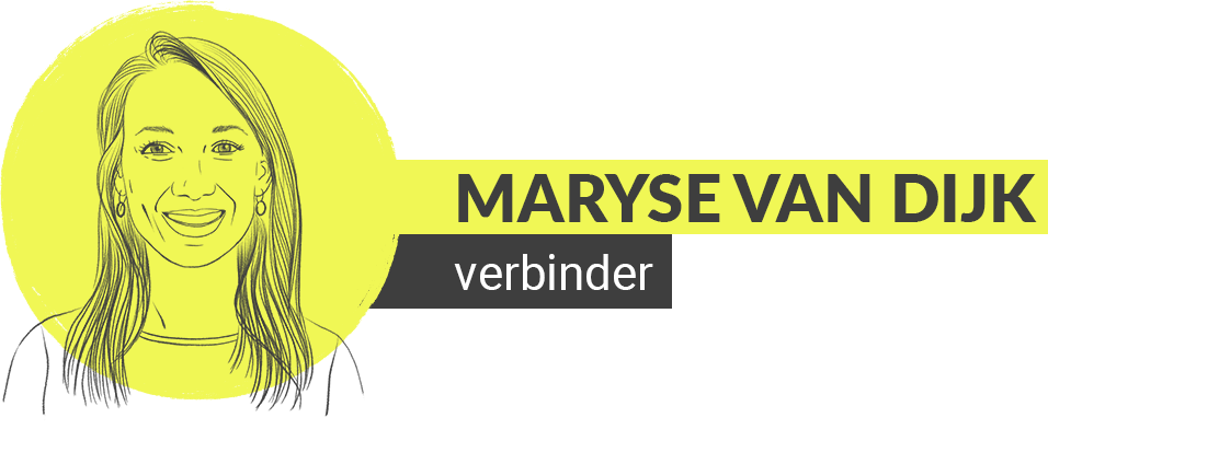 illustratie van maryse van dijk de verbinder van groweveryday