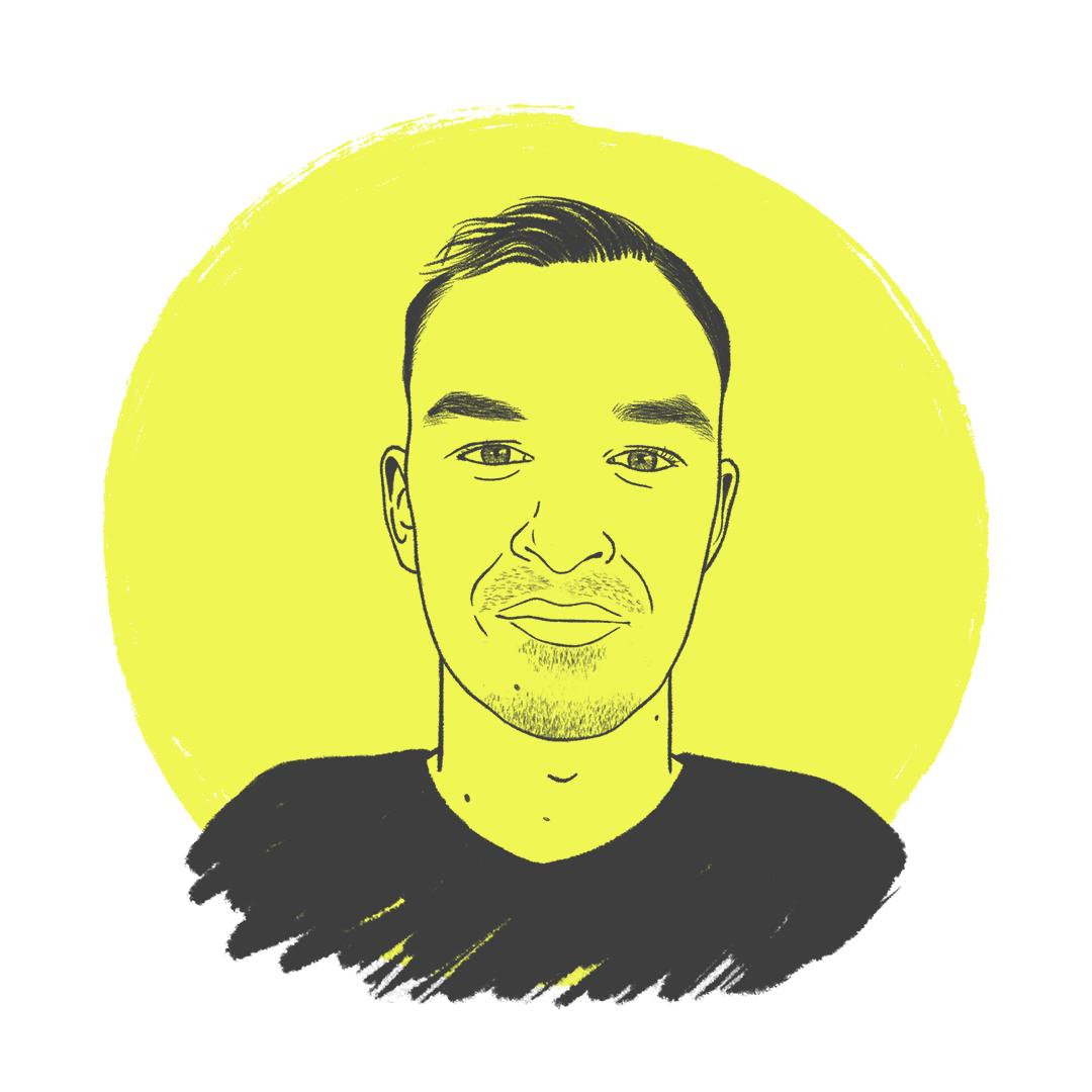 Portret van Job medewerker van GROWEVERYDAY